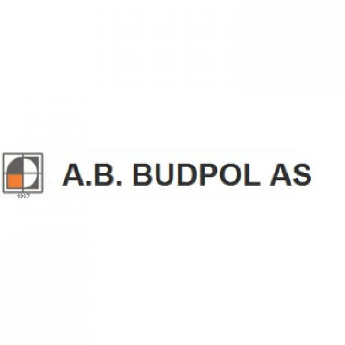 A.B. BUDPOL AS LOGO
