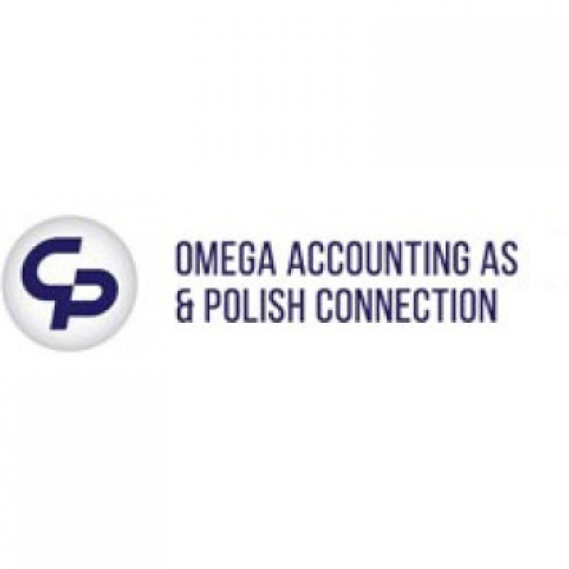 OMEGA ACCOUNTING AS & POLISH CONNECTION LOGO