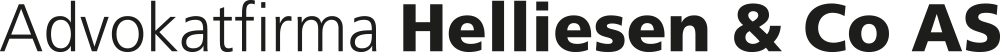 Advokatfirma Helliesen & Co LOGO