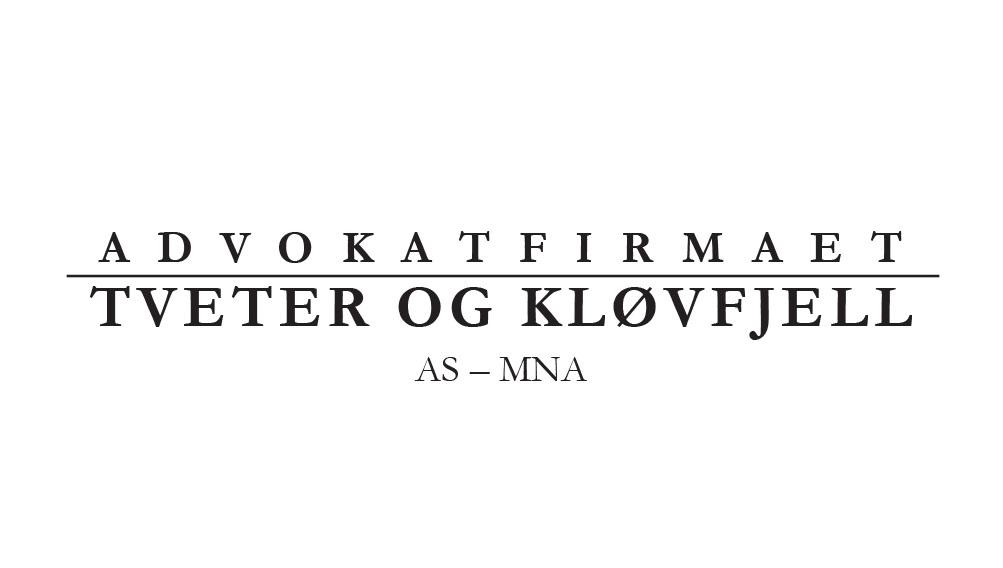 Tveter og Kløvfjell AS LOGO